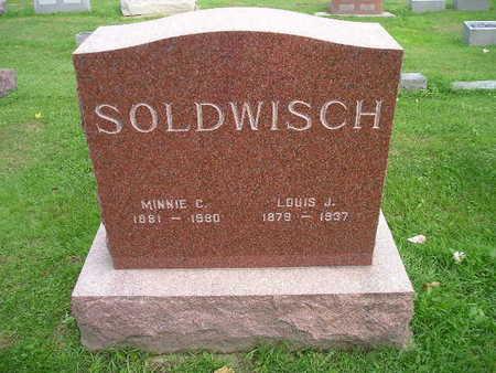 SOLDWISCH, MINNIE P - Bremer County, Iowa | MINNIE P SOLDWISCH