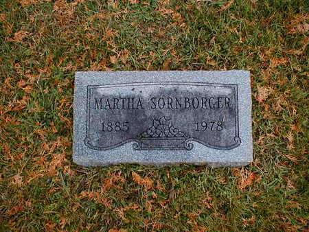 SORNBORGER, MARTHA - Bremer County, Iowa | MARTHA SORNBORGER