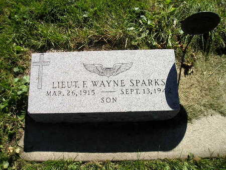 SPARKS, F WAYNE - Bremer County, Iowa   F WAYNE SPARKS
