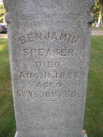 SPEAKER, BENJAMIN - Bremer County, Iowa | BENJAMIN SPEAKER