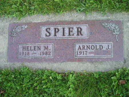 SPIER, HELEN M - Bremer County, Iowa | HELEN M SPIER