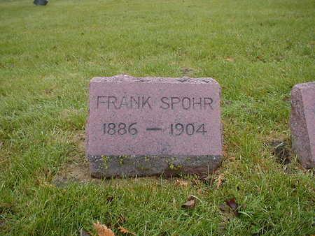SPOHR, FRANK - Bremer County, Iowa | FRANK SPOHR