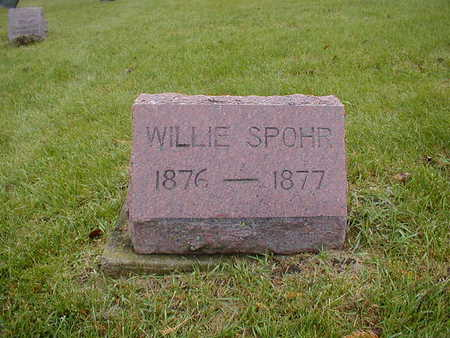 SPOHR, WILLIE - Bremer County, Iowa   WILLIE SPOHR