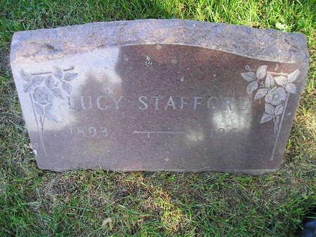 STAFFORD, LUCY - Bremer County, Iowa   LUCY STAFFORD