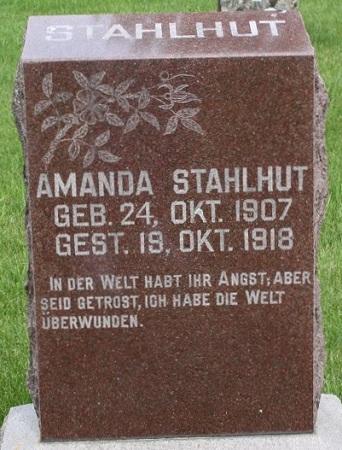 STAHLHUT, AMANDA - Bremer County, Iowa | AMANDA STAHLHUT