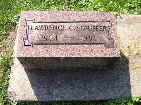 STAUFFER, LAWRENCE C - Bremer County, Iowa   LAWRENCE C STAUFFER