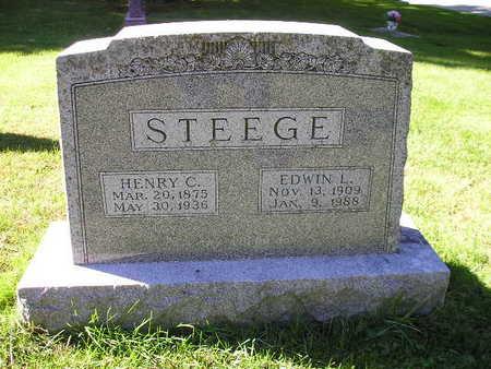 STEEGE, HENRY C - Bremer County, Iowa | HENRY C STEEGE