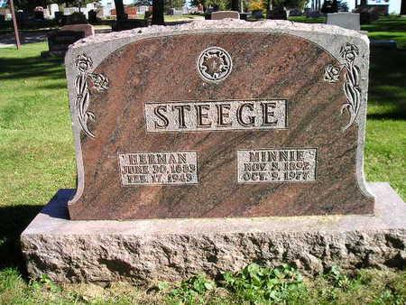 STEEGE, MINNIE - Bremer County, Iowa | MINNIE STEEGE