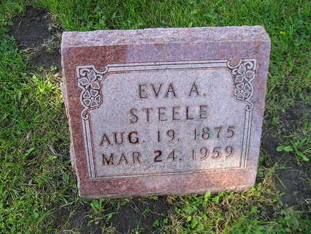 STEELE, EVA A - Bremer County, Iowa | EVA A STEELE