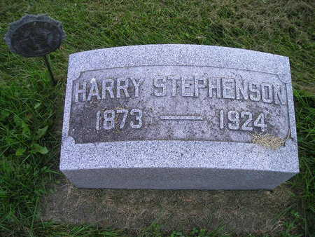 STEPHENSON, HARRY - Bremer County, Iowa | HARRY STEPHENSON