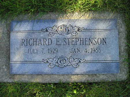 STEPHENSON, RICHARD E - Bremer County, Iowa | RICHARD E STEPHENSON