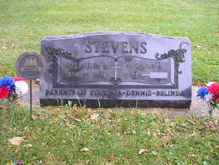 STEVENS, R ELAINE - Bremer County, Iowa   R ELAINE STEVENS