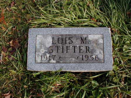 STIFTER, LOIS M - Bremer County, Iowa | LOIS M STIFTER