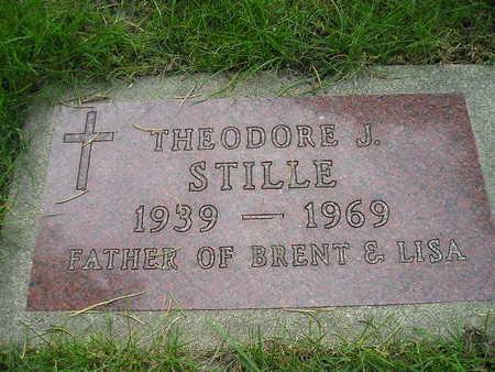 STILLE, THEODORE J - Bremer County, Iowa | THEODORE J STILLE