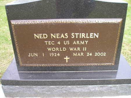 STIRLEN, NED NEAS - Bremer County, Iowa   NED NEAS STIRLEN