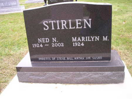 STIRLEN, NED N - Bremer County, Iowa | NED N STIRLEN
