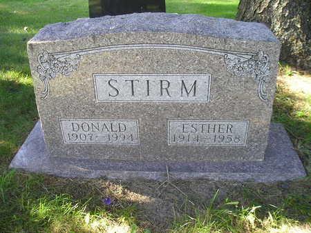 STIRM, ESTHER - Bremer County, Iowa | ESTHER STIRM