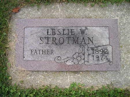 STROTMAN, LESLIE W - Bremer County, Iowa | LESLIE W STROTMAN