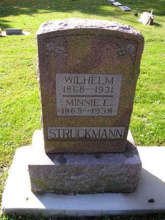 STRUCKMANN, MINNIE E - Bremer County, Iowa | MINNIE E STRUCKMANN
