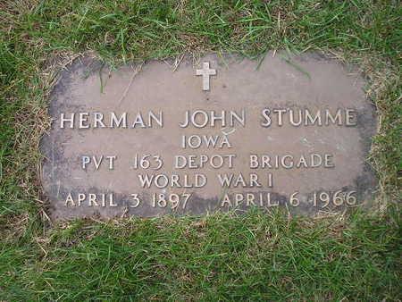 STUMME, HERMAN JOHN - Bremer County, Iowa | HERMAN JOHN STUMME