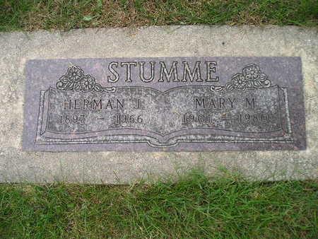 STUMME, MARY M - Bremer County, Iowa   MARY M STUMME