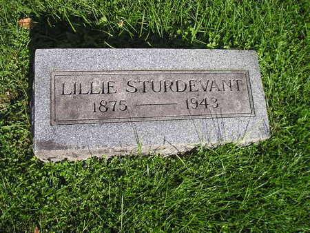 STURDEVANT, LILLIE - Bremer County, Iowa | LILLIE STURDEVANT