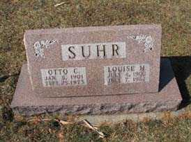 SUHR, OTTO C - Bremer County, Iowa | OTTO C SUHR