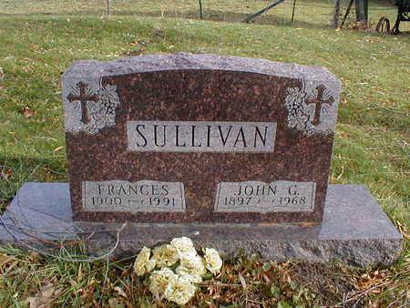 SULLIVAN, FRANCES - Bremer County, Iowa | FRANCES SULLIVAN