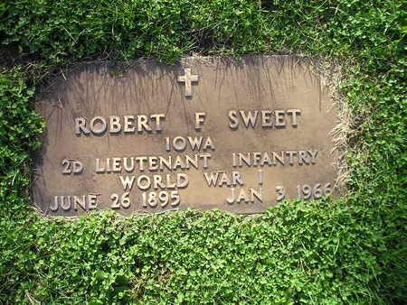 SWEET, ROBERT F - Bremer County, Iowa | ROBERT F SWEET