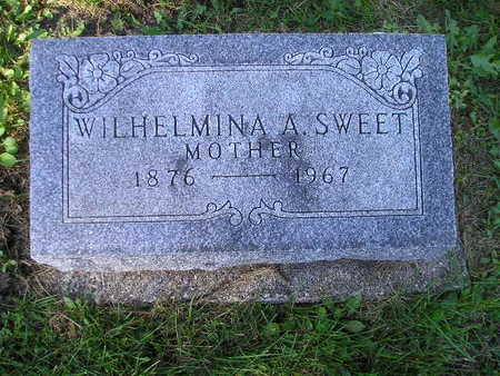 SWEET, WILHELMINA A - Bremer County, Iowa | WILHELMINA A SWEET