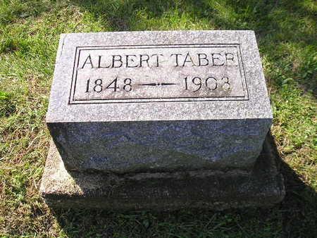TABER, ALBERT - Bremer County, Iowa   ALBERT TABER