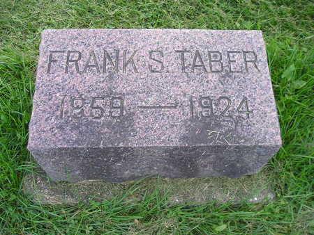 TABER, FRANK S - Bremer County, Iowa | FRANK S TABER