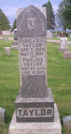 TAYLOR, CHARLES - Bremer County, Iowa   CHARLES TAYLOR