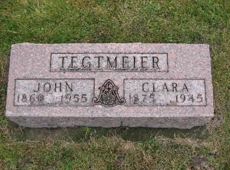 TEGTMEIER, CLARA - Bremer County, Iowa | CLARA TEGTMEIER