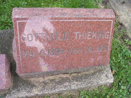 THIEKING, GOTTHOLD - Bremer County, Iowa | GOTTHOLD THIEKING