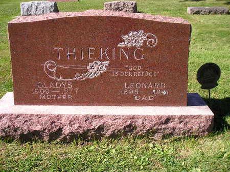 THIEKING, LEONARD - Bremer County, Iowa   LEONARD THIEKING
