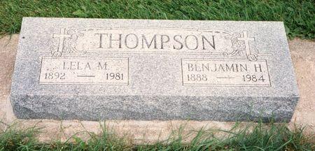 THOMPSON, LELA MAY - Bremer County, Iowa | LELA MAY THOMPSON