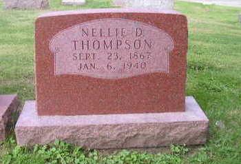 THOMPSON, NELLIE - Bremer County, Iowa | NELLIE THOMPSON