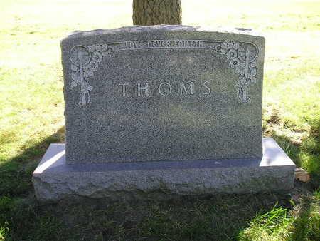 THOMS, FAMILY - Bremer County, Iowa | FAMILY THOMS