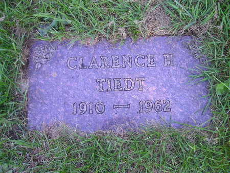 TIEDT, CLARENCE H - Bremer County, Iowa | CLARENCE H TIEDT