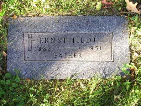 TIEDT, ERNST - Bremer County, Iowa   ERNST TIEDT