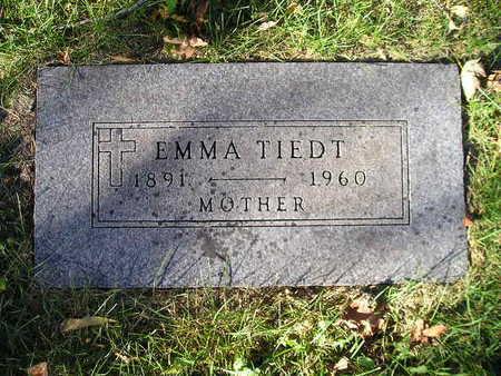 TIEDT, EMMA - Bremer County, Iowa | EMMA TIEDT