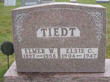 TIEDT, ELMER W - Bremer County, Iowa | ELMER W TIEDT