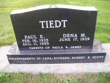 TIEDT, PAUL E - Bremer County, Iowa | PAUL E TIEDT
