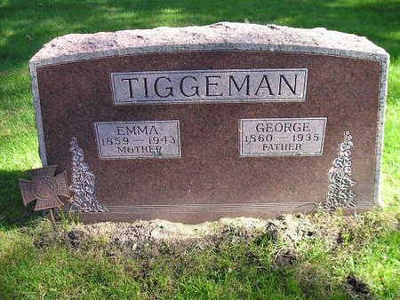 TIGGEMAN, GEORGE - Bremer County, Iowa | GEORGE TIGGEMAN