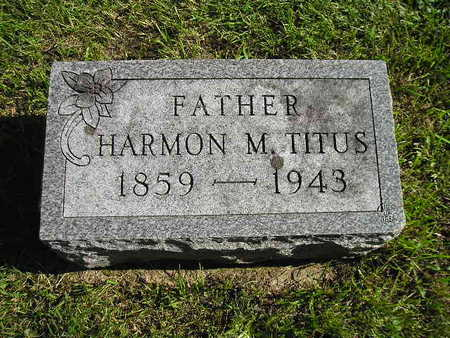 TITUS, HARMON M - Bremer County, Iowa | HARMON M TITUS