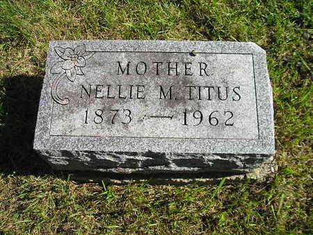 TITUS, NELLIE M - Bremer County, Iowa | NELLIE M TITUS