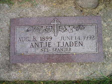 SPANJER TJADEN, ANTJE - Bremer County, Iowa | ANTJE SPANJER TJADEN