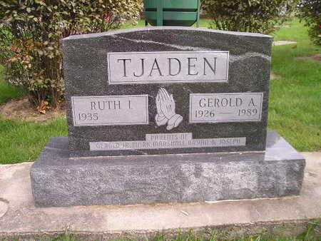 TJADEN, RUTH I - Bremer County, Iowa | RUTH I TJADEN