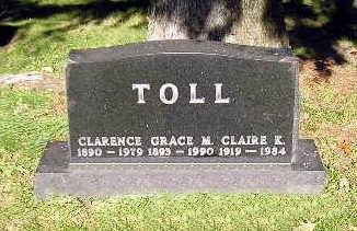 TOLL, CLAIRE K - Bremer County, Iowa | CLAIRE K TOLL